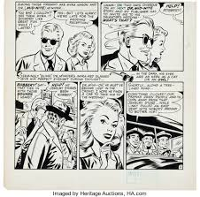 """Howard Purcell (attributed) Dr. Mid-Nite """"Written Off"""" Partial Page 