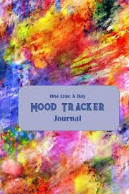 Paint Color Moods Chart One Line A Day Mood Tracker Journal Thirty One Day