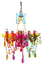 gypsy chandelier small multicolored white nz