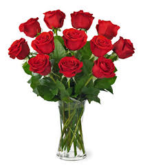 clic one dozen red rose bouquet for delivery