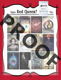 if you like the red queen try book remendation