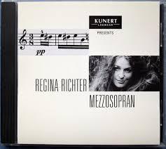 Regina Richter – Mezzosopran (1999, CD) - Discogs
