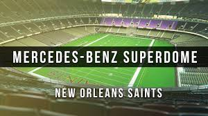 New Orleans Superdome Seating Chart 3d 3d Digital Venue Mercedes Benz Superdome Nfl New Orleans Saints