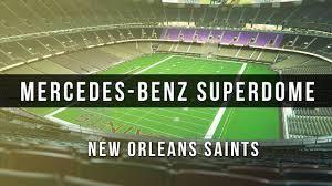 3d Digital Venue Mercedes Benz Superdome Nfl New Orleans Saints