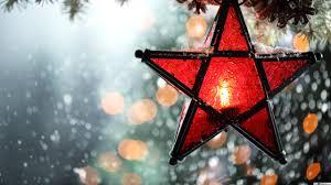 Christmas star HD wallpaper download