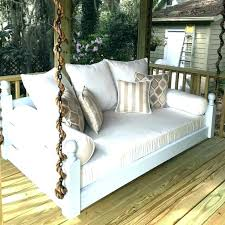 outdoor swing bed australia porch swings plans round with canopy twin