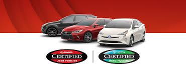 Toyota Certified Program | Hamer Toyota