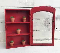 terrific curio cabinet with glass door vintage curio display cabinet with glass door red painted wood