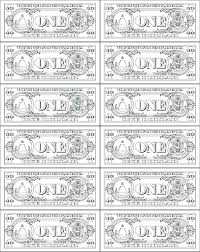 money coloring pages printable dollar page bill free sheets play c money coloring sheet