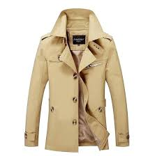 mens trench coat plus size lapel single ted solid color trench coat mens long trench coat pattern mens trench coats for