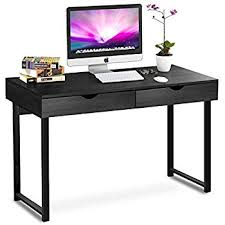 amazon com tribesigns computer desk modern stylish 47 home