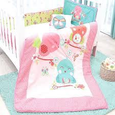 pink crib bedding sets 6 piece baby girl spring pink crib bedding set by pink and grey elephant nursery bedding sets