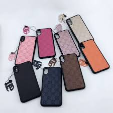 Designer Cell Phone Cases Wholesale Wholesale New Designer Phone Case For Iphonex Xs Xr Xsmax Iphone7 8plus 7 8 6 6s 6 6sp Classic Phone Case With Brand Letters Style Cell Phone Pouches