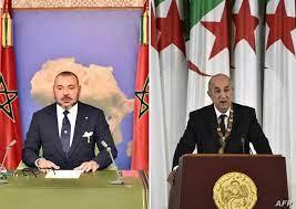 """دعوة من ملك المغرب لرئيس الجزائر من أجل تجاوز """"الوضع المؤسف"""""""