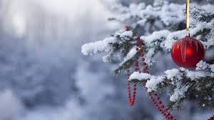 snowy christmas tree wallpaper. Exellent Wallpaper Res 2560x1600 Wallpaper Of Snowy Christmas Scene To Tree T