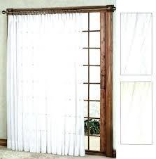 sliding door curtain panel patio door curtain panel splendor semi sheer pinch pleat patio panel bamboo sliding door