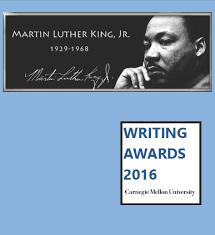 mlk essay mlk jr writing awards department of english carnegie  mlk jr writing awards department of english carnegie mellon 17th annual mlk jr writing awards booklet