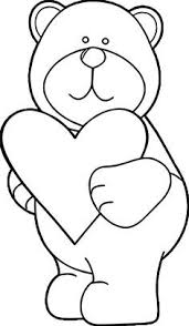Luxury Hearts And Teddy Bears Coloring Pages C Trademe