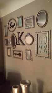 circle mirror wall decals best mirror wall collage ideas on picture frame  picture frame collage wall