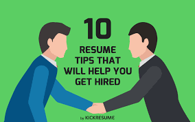 resume tips that will help you get hired 10 interview tips cover