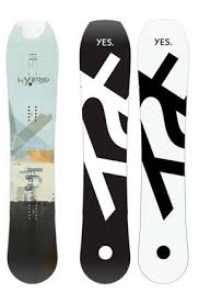 Yes Snowboard Size Chart Yes Hybrid 19 20 Snowboard