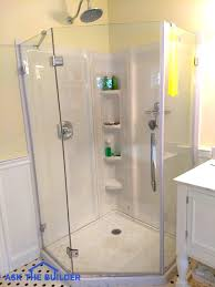 interior glass shower wall panels are sleek smooth expert walls casual 9 glass shower