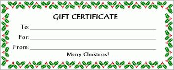 free printable christmas gift certificate templates discreetliasons com christmas gift certificate template 12