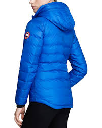 Lyst - Canada Goose Down Coat - Pbi Camp Hooded Lightweight in Blue