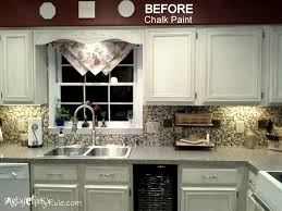 Luxury Painting Kitchen Cabinets With Chalk Paint 80 Within Home Design  Styles Interior Ideas With Painting