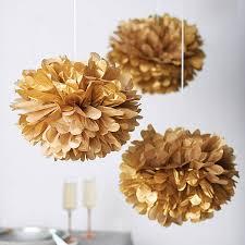 Hanging Pom Pom Decorations Diy Tissue Paper Pom Poms Paper Pom Poms Hanging Pom Poms And