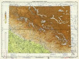 World Aeronautical Chart Kailas Range