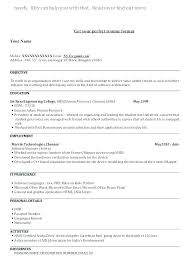 Format Of The Resume Correct Format For A Resume Correct Resume ...