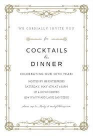 Free Professional Business Events Invitation Templates On Formal ...