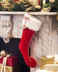 Jingle Bell Velvet Stocking Main