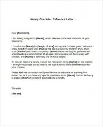 Get 5 Sample Nanny Reference Letters Pdf Word Document And