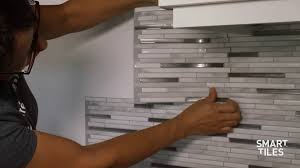 Peel And Stick Tiles Installation Backsplash Smart Tiles