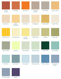 California Paint Color Chart 1970s Decorating Style Colors Patterns Design Of The 70s