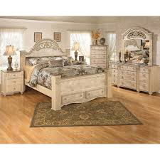 Poster Bedroom Furniture King Poster Bed With Storage