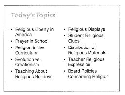accountability in the media religion in the public schools