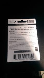 steam gift card code photo 1