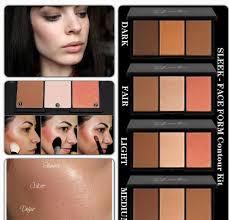 light palette review sleek makeup face form contour sleek face form contouring and blush palette บ