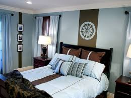 Brown Blue Bedroom Ideas
