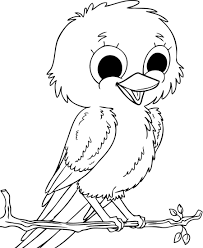 Small Picture Baby Sparrow Birds Coloring Pages Coloring pages Pinterest