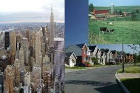 Urban Suburban Rural Urban Suburban Rural Webquest
