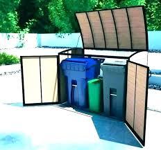 outdoor garbage storage garbage bin enclosure outdoor trash can storage cabinet garbage shed garbage bin enclosure