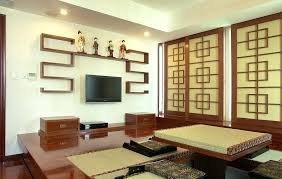 decoration style living room furniture wooden table on beige carpet low profile bed kitchen storage