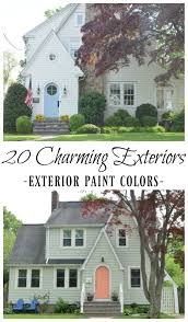 historic exterior paint colorsNew England Homes Exterior Paint Color Ideas  Nesting With Grace