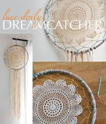 Dream Catchers Organization Use dream catchers to hold earrings DIY Upcycle Pinterest 17