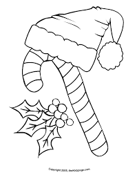 Small Picture Candy Cane Free Coloring Pages for Kids Printable Colouring Sheets