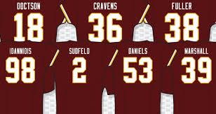 Numbers Jersey Numbers Redskins Redskins Jersey Jersey Redskins
